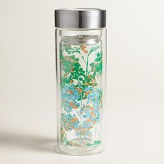 One of my favorite discoveries at WorldMarket.com: Trees Glass Tea Carafe
