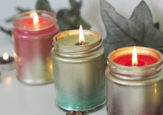 DIY | How to Make Your Own Festive Candles