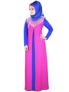 MyBatua Womens Islamic Attire Umniyah Abaya  Beautiful by MyBatua