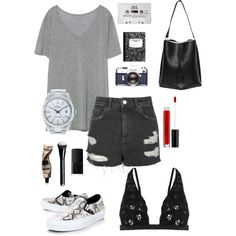 Amazing day by camilla-tartaglia on Polyvore featuring polyvore, mode, style, Zara, Topshop, Vans, Maison Margiela, Rolex, Aesop, NARS Cosmetics and Blink