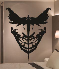 Who do you see? Do you see the Dark Knight? Or do you see the clown prince of crime? Epic Designs brings you this fantastic Batman & Joker Ink Blot