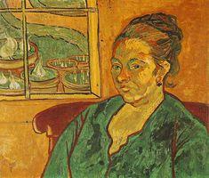 Vincent van Gogh: Les Peintures (Portrait de Madame Augustine Roulin) Arles…