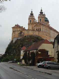 Melk Abbey or Stift Melk is an Austrian Benedictine abbey, and one of the world's most famous monastic sites. It is located above the town of Melk on a rocky outcrop overlooking the river Danube in Lower Austria, adjoining the Wachau valley. — in Germany.