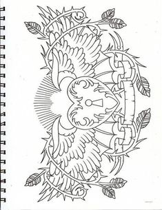Step By Step Process To Help You Choose Your First Tattoo Design – Wrist Designs Kunst Tattoos, Bild Tattoos, Body Art Tattoos, Arabic Tattoos, Sleeve Tattoos, Heart Coloring Pages, Adult Coloring Book Pages, Coloring Books, Colouring