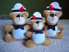 Angela Maria Artesanto: Ursinhos marinheiros