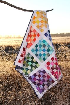 36 patch quilt Picnic Blanket, Outdoor Blanket, Jellyroll Quilts, Patch Quilt, Quilting Projects, Fireworks, Color Combinations, Patches, Farmhouse