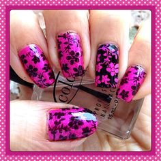 Nail stamping with moyou pro 08