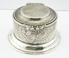 Tiffany & Co. Antique Sterling Silver Inkwell