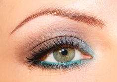 tutorial trucco marrone e verde