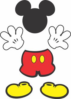 Mickey table decoration to print for free Mickey Mouse Classroom, Mickey Mouse Crafts, Fiesta Mickey Mouse, Mickey Mouse Decorations, Mickey Mouse Clubhouse Birthday, Mickey Mouse Parties, Mickey Birthday, Mickey Party, Birthday Crafts