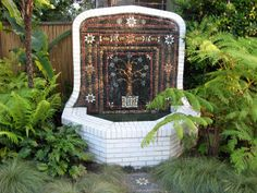 A Pebble Mosaic Carpet I built in a garden in Los Angeles I am in Morocco again for the second of what may be a continuing series of t. Mosaic Walkway, Pebble Mosaic, Mosaic Garden, Stone Mosaic, Garden Art, Garden Design, Garden Ideas, Garden Oasis, Lawn And Garden