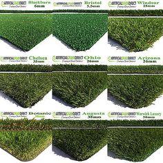 5 ColorsLawn Fake Turf Outdoor Carpet Flooring Artificial Grass Matting