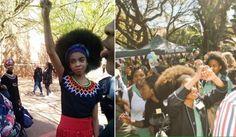 """Des lycéennes sud-africaines s'élèvent contre un règlement raciste proscrivant la coupe """"afro"""""""
