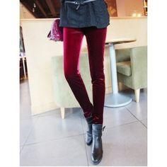 Calça Legging De Veludo  modafeminina  moda  estilo  estilofeminino  calça   lookdodia 8a0dfd29af3
