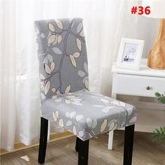 Decorative Chair Covers - Shipping Worldwide, Off Just Today, Refund Money Fully, Guarantee, Buy it now online from wowelo. Dining Room Chair Covers, Dining Chair Slipcovers, Dining Room Chairs, Dining Furniture, Kitchen Chairs, Office Chairs, Wingback Chair, Kitchen Dining, Cheap Chair Covers