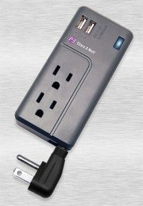 GENIUS. Every traveler needs this combo outlet/USB portable power strip.