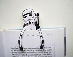 Stormtrooper Star wars bookmark by BigNerdWolf on Etsy