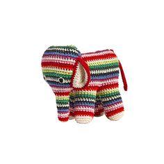 .Hand Crochet Elephant – The Tiny Finch