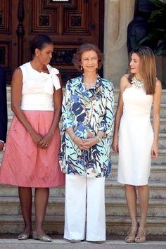 Michelle Obama visits Spain