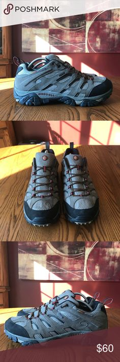 282024ed901773 Merrell Moab Waterproof Hiking Shoes Men s Merrell Moab Waterproof Hiking  Shoes. They are in great