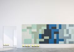 Form Us With Love adds colourful acoustic panels to Baux range.