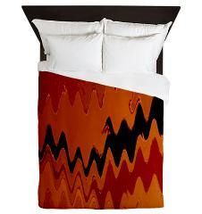 crazy effects black red Queen Duvet> crazy effects more colors and versions> CrazyHome