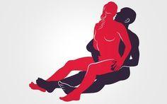 ENCAIXADINHA SENTADA: Ela senta no colo dele apoiando as costas em seu tronco. Ela rebola, ele estimula o clitóris com uma das mãos. Foto: Renato Munhoz (Arte iG)