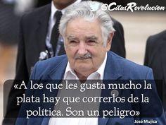 Grande Pepe Mujica! Un revolucionario que cambió el modo de ver nuestra historia Latinoamericana y reavivo nuestro sentido de pertenencia para defender nuestra Independencia del Modelo Imperial!