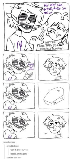 Just-  Gamzee face through the entire thing i cant-