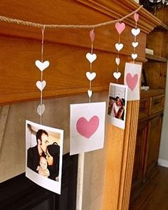Spread the love with these DIY valentine's day decorations. From rose wreaths to heart garlands, there are many valentine's day decor ideas to choose from. Valentines Day Party, Valentines Day Decorations, Valentine Day Crafts, Birthday Decorations, Happy Valentines Day, Holiday Crafts, Holiday Fun, Valentine Wreath, Holiday Parties