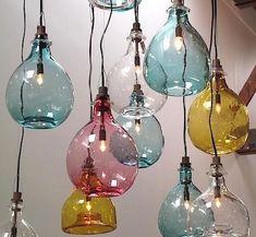 Glass Jug Lamp