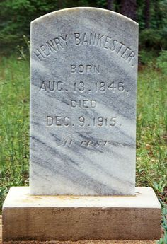 Pvt Henry Augustus Bankester (1846 - 1915) - Find A Grave Photos