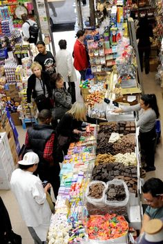 Economy Candy at 108 Rivington St. sells all the candy you remember as a kid.