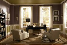 Behr Paint Idea photos traditional home office