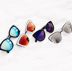 cute Quay Sunglasses http://us.asos.com/Quay-Australia-My-Girl-Mirror-Cat-Eye-Sunglasses/16ipxp/?iid=5270412&channelref=paid+search&affid=2365&gclid=CKfll7-ty8oCFcGRHwodk3wFew&r=2&mporgp=L1Byb2Qv
