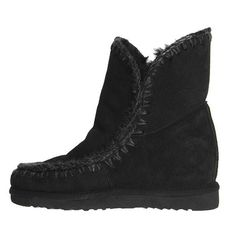 Eskimo studded wedge ankle boots - Black Mou hR7bF
