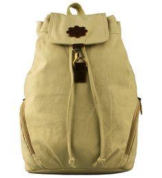 KAUKKO Vintage Style Casual Canvas Rucksacks Backpacks *** Unbelievable outdoor item right here! : Day backpacks