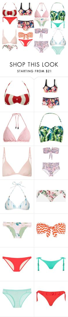 """""""Untitled #14590"""" by beatrizibelo ❤ liked on Polyvore featuring Solid & Striped, Manning Cartell, Zimmermann, ViX, JETS, Heidi Klein, Dolce&Gabbana, Isabella Rose, Calvin Klein and Icebreaker"""