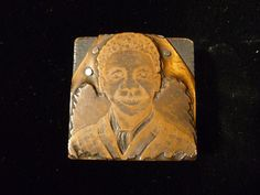AFRICAN AMERICAN BLACK BOY PRINTERS FIGURAL COPPER PRINTING PLATE – CIRCA 1880