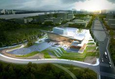 World Architecture Festival Awards 2013 shortlist announced Sejong Art Center Winning Proposal / DMP Partners / Cortesía de DMP Partners