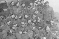 Paratroopers of the British 1st Airborne Division before departing for Operation Market Garden, September 1944.