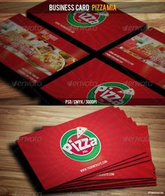 Business Card Pizza Mia