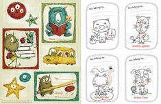 printable book plates | printables 2 Free printable bookplates for those precious books