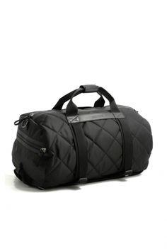 Moncler Black Bertrand Bag Borsone Nero Online
