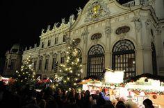 VIENNA: Belvedere Palace Christmas Village