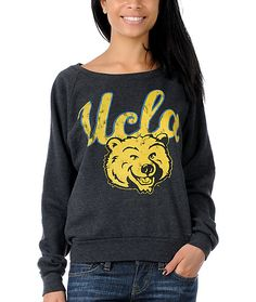 Made to fit and feel like a worn-in vintage college sweatshirt, Recycled Karma team pullovers for girls represent your favorite dudes on the field without ending up looking like one. Slightly wide cut with raglan sleeves and comfy wide crew neck made with