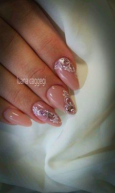ideas nails - ideas nails - Nothing will be hidden! Lace Nails, Flower Nails, Pink Nails, Gel Nails, Nail Nail, Fabulous Nails, Gorgeous Nails, Pretty Nails, Classy Nails