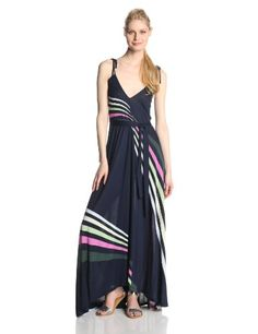 French Connection Women's Rainbow Maxi Dress