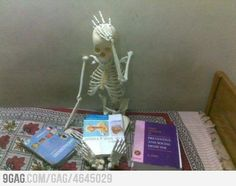 Medical students can relate.