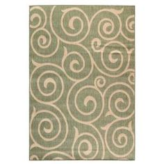 Home Decorators Collection Whirl Natural and Sage 7 ft. 6 in. x 10 ft. 9 in. Area Rug-0527730620 at The Home Depot